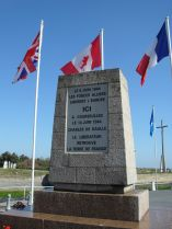 Landings memorial at Courselles sur Mer